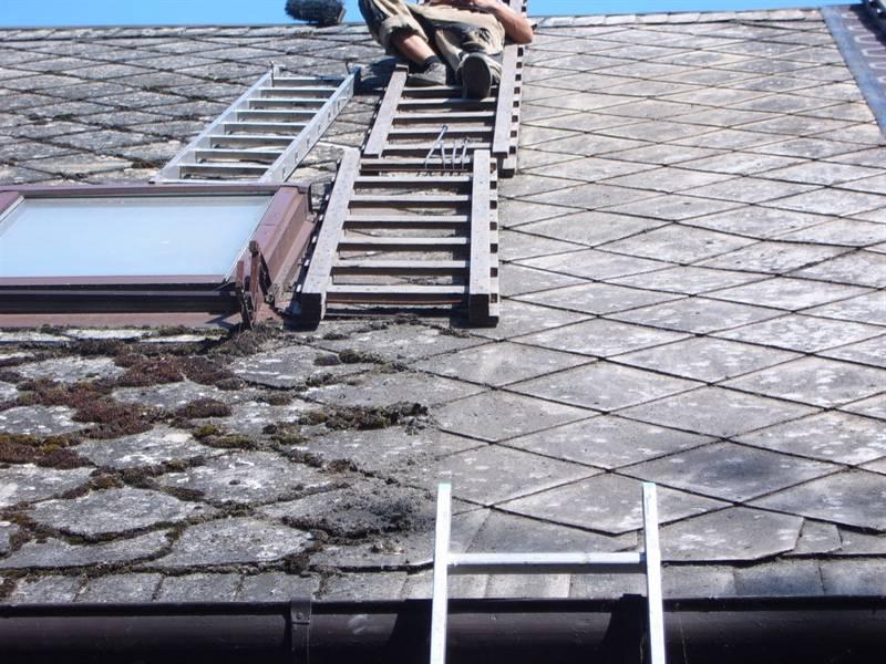 Jak opravit eternitovou střechu